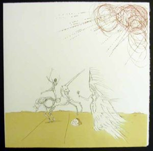 Salvador Dali - Neuf Paysages - Desert Fabuleux