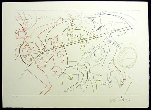 Salvador Dali - La Quete du Graal - The Sad Garde