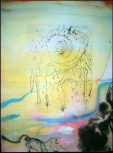 Salvador Dali - Moise et Monotheisme - Moses Saved from the Waters