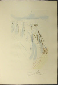 Salvador Dali - Song of Songs of Solomon - The King's Train