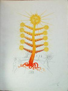 Salvador Dali - Flora Dalinae (FlorDali) - Helianthus Solifer (Soleil, Sun)