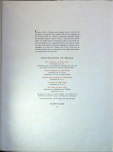 Salvador Dali - Flora Dalinae (FlorDali) - Justification Page