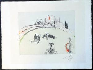 Salvador Dali - Tauromachie Surrealiste (Bullfight III) - Bullfight with Drawer