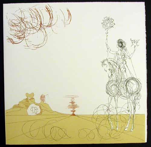 Salvador Dali - Neuf Paysages - Tourbillon-Spirale