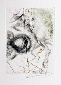 Salvador Dali - Le Decameron - L'Enfer des Beautes cruelles