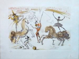 Salvador Dali - Le Cirque - Ecuyere