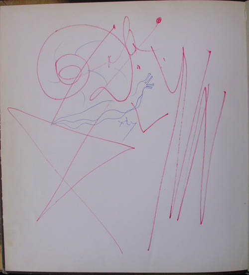 Salvador Dali - Dali by Max Gerard - Original drawing