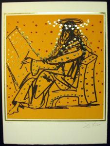 Salvador Dali - The Twelve Apostles - Mark