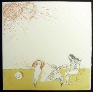 Salvador Dali - Neuf Paysages - Piano Chevelure