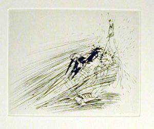 Salvador Dali - Faust - Le reve de Faust