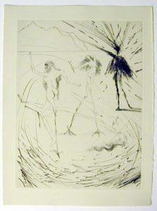 Salvador Dali - Faust - Femmes-poules