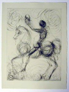 Salvador Dali - Faust - Cavalier et la mort