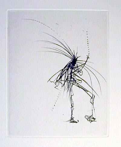 Salvador Dali - Faust - Le Jeune Sorciere