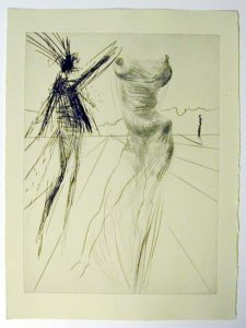 Salvador Dali - Faust - Le Buste