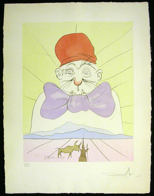 Salvador Dali - Japanese Fairy Tales - Kosanaga chojo