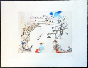 Salvador Dali - Tauromachie Surrealiste (Bullfight III) - Giraffe