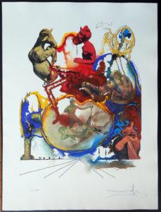 Salvador Dali - Four Dreams of Paradise - Heroic