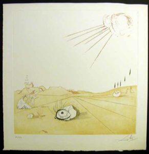 Salvador Dali - Neuf Paysages - Espace Paysage