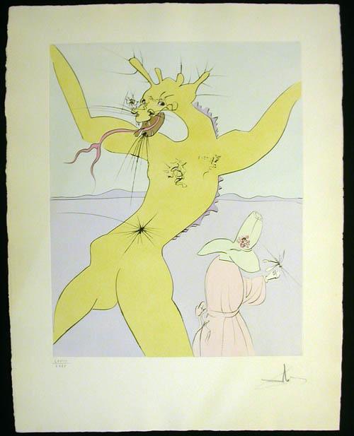 Salvador Dali - Japanese Fairy Tales - Shitakiri