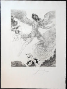Salvador Dali - The Mythology - Icarus
