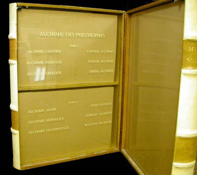 Salvador Dali - Alchimie des Philosophes - Inside of Book