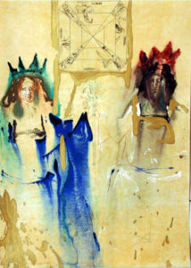 Salvador Dali - Alchimie des Philosophes - The The King and Queen