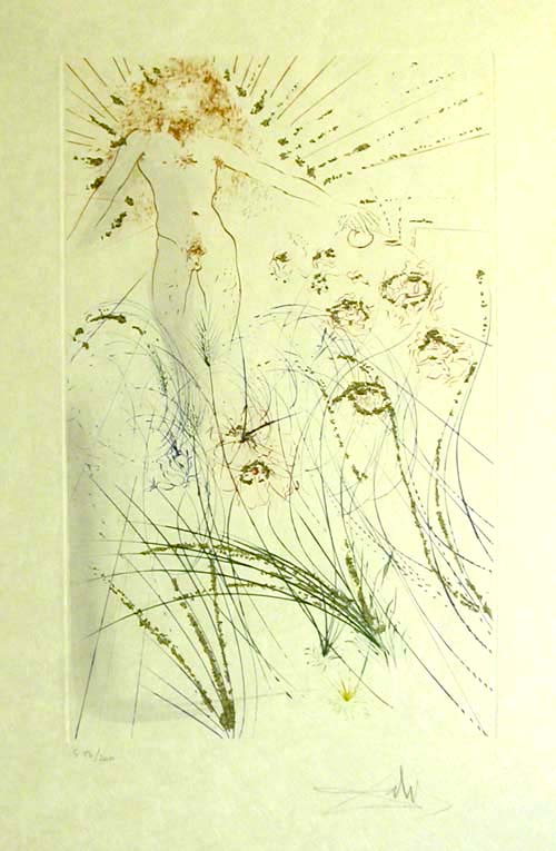 Salvador Dali - Song of Songs of Solomon - The Beloved is as Fair