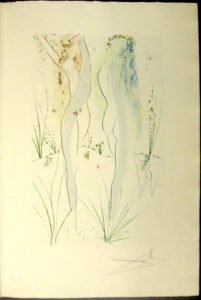Salvador Dali - Song of Songs of Solomon - The Beloved Feeds