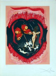 Salvador Dali - Triomphe de l'Amour (Triumph of Love) - Le Triomphe