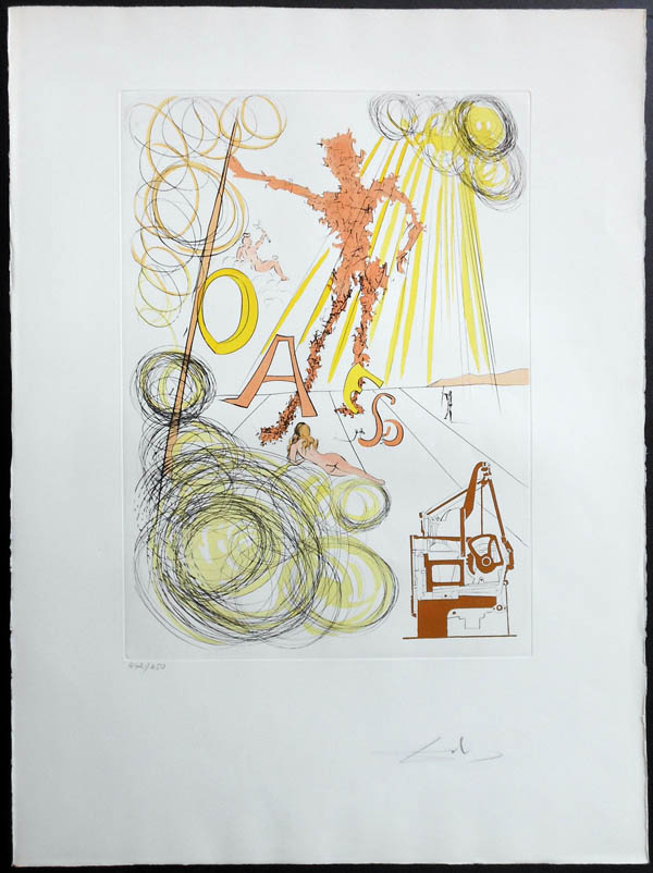 Salvador Dali Linotype is currently availalbe  Call us