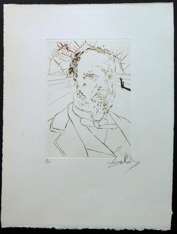 Salvador Dali - Medicine and Science - Louis Pasteur