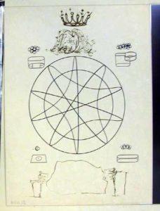 Salvador Dali - Dix Recettes d'Immortalite - Immortalite sterroscopique et stereochimique de las monarchie