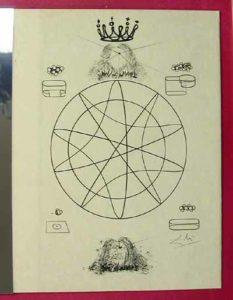 Salvador Dali - Dix Recettes d'Immortalite - La Sainte persistance de la memoire