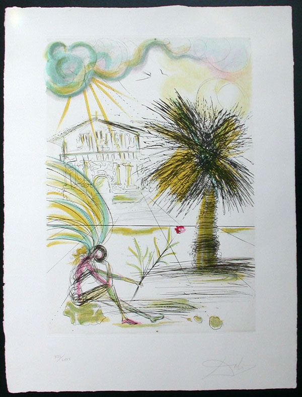 Salvador Dali - San Francisco - Mission Dolores