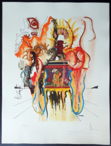 Salvador Dali - Four Dreams of Paradise - Mystic