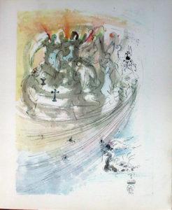 Salvador Dali - Paternoster - Lithograph