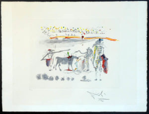 Salvador Dali - Tauromachie Surrealiste (Bullfight III) - The Parrots