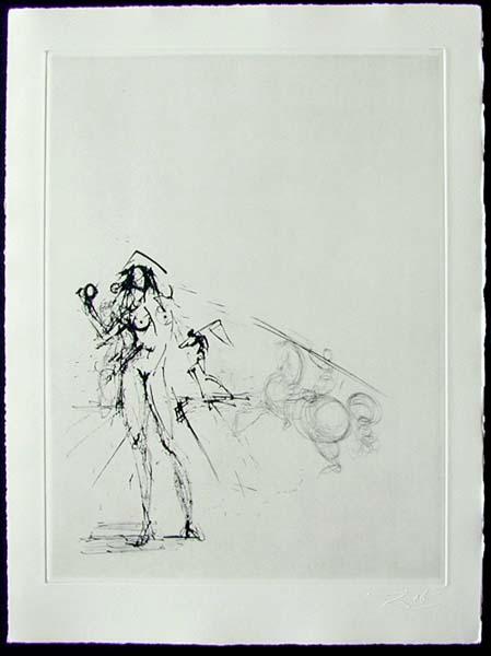 Salvador Dali - Les Amours de Cassandre - Le Pecheur