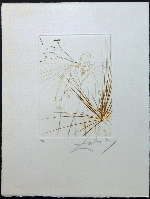 Salvador Dali - Medicine and Science - Pierre Curie