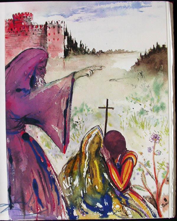 Salvador Dali - Romeo and Juliet - Romeo4.jpg