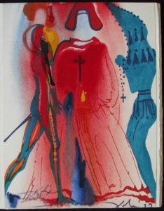 Salvador Dali - Romeo and Juliet - Romeo5.jpg