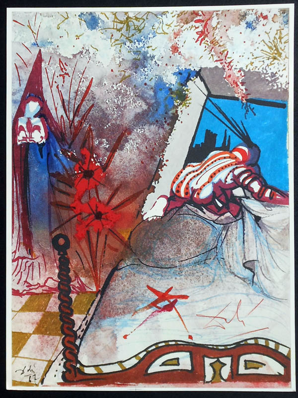 Salvador Dali - Romeo and Juliet - Romeo6a.jpg