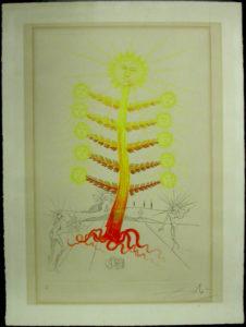 Salvador Dali - Flora Dalinae (FlorDali) - Sun