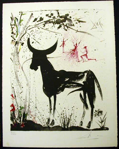 Salvador Dali - Carmen - Anticipation of a Bullfight