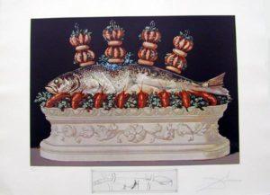 Salvador Dali - Les Diners de Gala - Veriegated Plumes