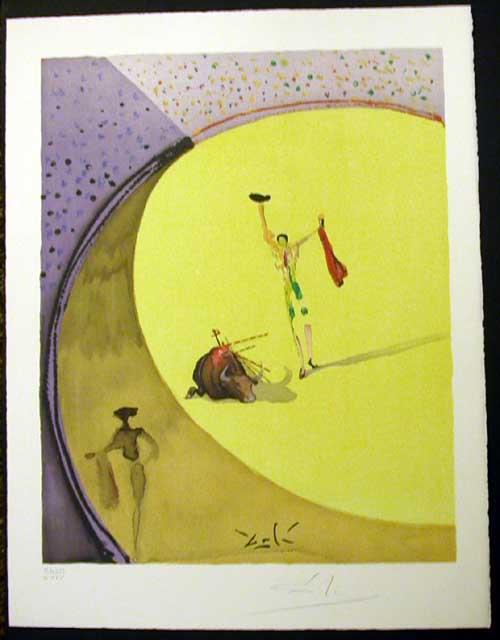 Salvador Dali - Carmen - Triumph of the Toreador