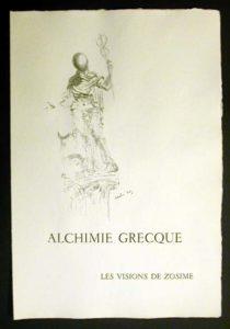 Salvador Dali - Alchimie des Philosophes - Serigraph, c