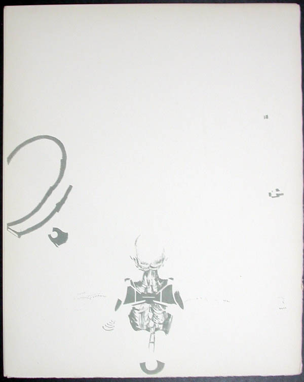 Salvador Dali - Don Quichotte de la Mancha, Book A - 1957 - L'ere atomique The atomic era - #12