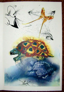 Salvador Dali - Alice in Wonderland - The Mock Turtle's Story