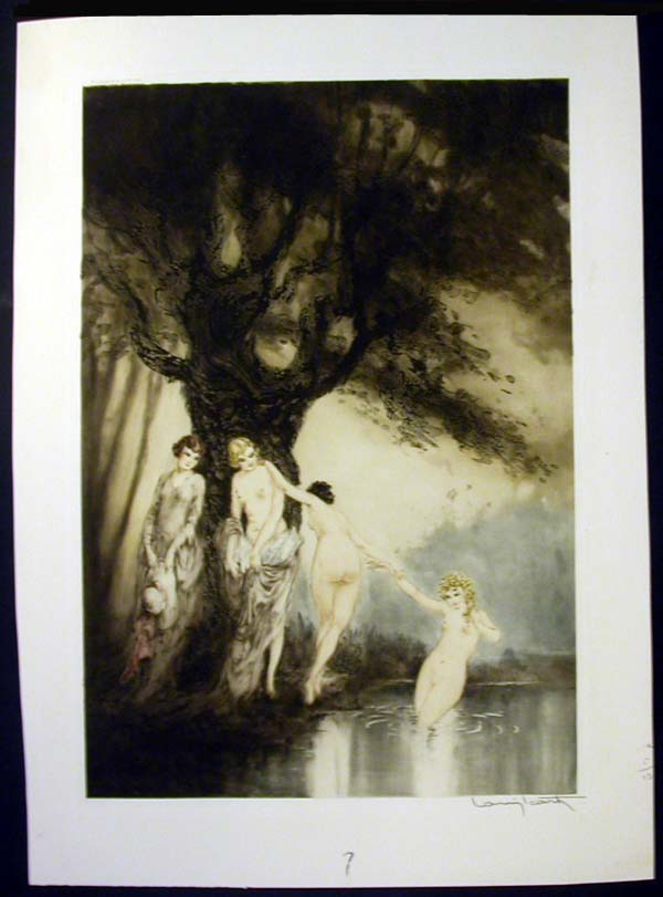 Louis Icart Bathing Beauties